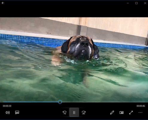 Juul blind zwemmen H2Ond